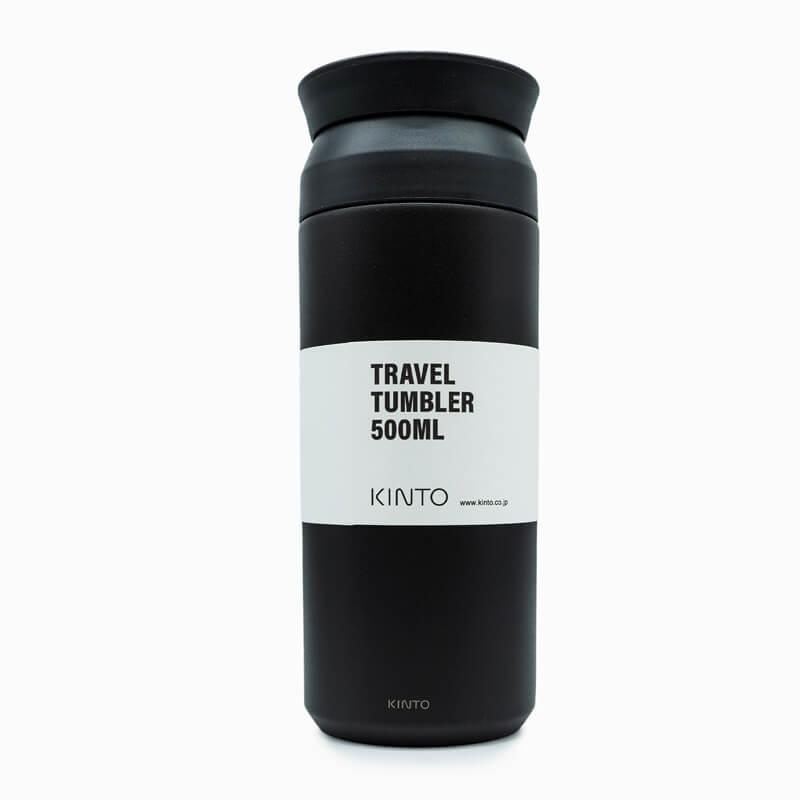Kinto Travel Tumbler 500ml schwarz