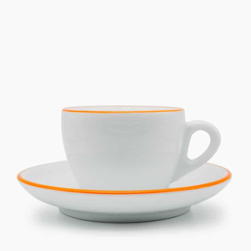 sweet spot kaffee Tasse Ancap Palermo Competition Pennellessa 150ml Cappuccino orange