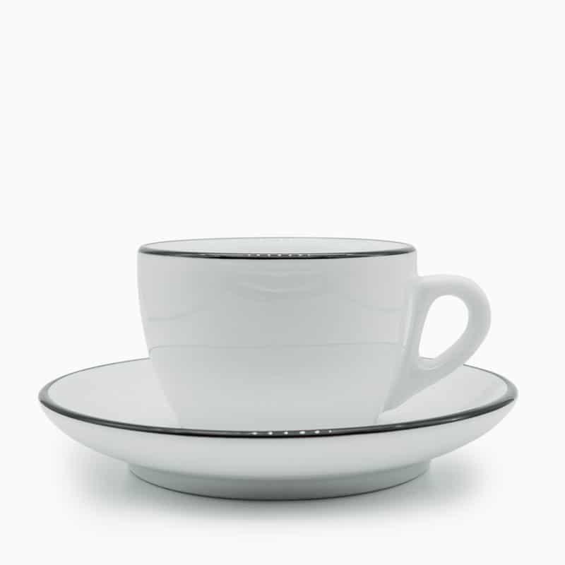 sweet spot kaffee Tasse Ancap Palermo Competition Pennellessa 150ml Cappuccino schwarz