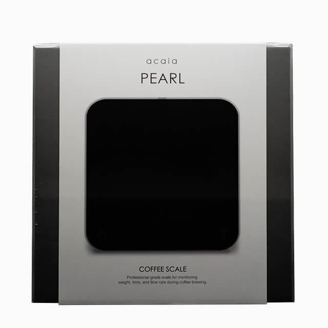 acaia PEARL Barista-Waage in schwarz