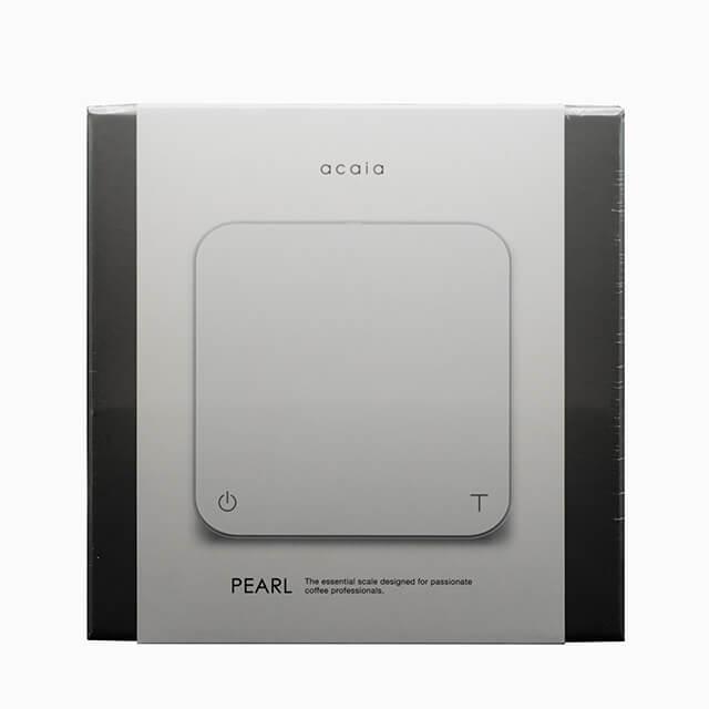 acaia PEARL Barista-Waage in weiß