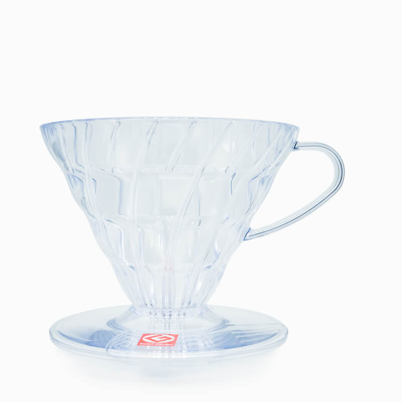 Hario V60-02 Dripper Plastic Clear