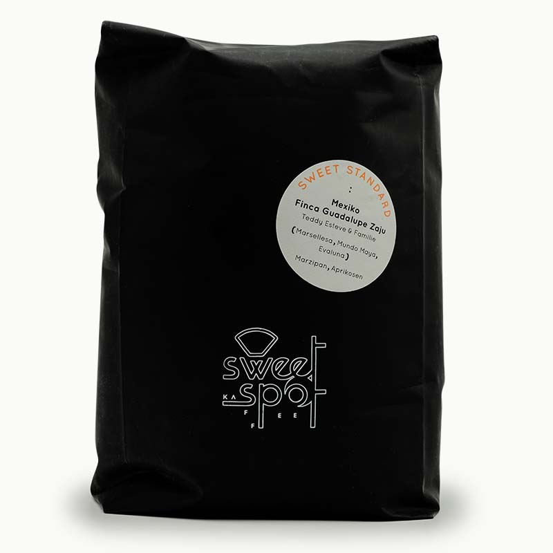 sweet spot kaffee sweet standard Mexico Guadalupe Zuja washed barrel aged Espresso 1kg